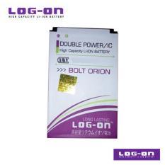 LOG-ON Battery Untuk Bolt Orion Modem - Double Power & IC - Garansi 6 Bulan