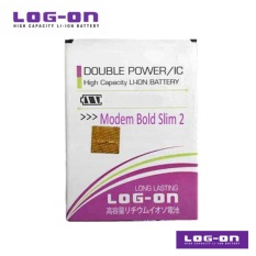 LOG-ON Battery Untuk Bolt Slim 2 Modem  Huawei - Double Power & IC - Garansi 6 Bulan
