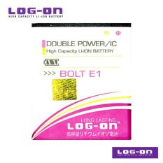 LOG-ON Battery Untuk Bolt Smartphone E1 / Zte - Double Power & IC - Garansi 6 Bulan