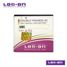 LOG-ON Battery Untuk Evercoss A7D - Double Power & IC - Garansi 3 Bulan