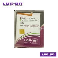 Obral Log On Battery Untuk Infinix Hot 4 X557 Double Power Ic Garansi 6 Bulan Murah