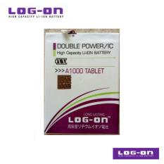 LOG-ON Battery Untuk lenovo IdeaTab A1000 / A1010 / A3000 / A3300 / A5000 TABLET