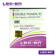 LOG-ON Battery Untuk lenovo Vibe C / K3 / A6000 / A6000+ / A6010 / A3900 / BL242
