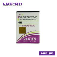 LOG-ON Battery Untuk Samsung Galaxy CH@T / Corby Plus / Corby  - Double Power & IC
