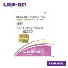 LOG-ON Battery Untuk Samsung Galaxy Nexus / Nexus Prime / Rush - Double Power & IC - Garansi 6 bulan