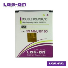 LOG-ON Battery Untuk Samsung Galaxy S3 Mini / Ace 2 / Trend Duos / Z2  - Double Power & IC