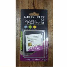 LOG-ON Double Power & IC Battery For Lenovo A516 [3500 mAh]