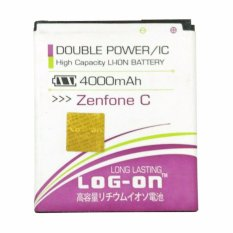 Jual T Log On Double Power Battery For Asus Zenfone C 3800 Mah Satu Set