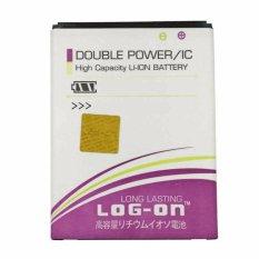 Log On Double Power Battery For Lenovo A7000 4500 Mah Log On Diskon 50