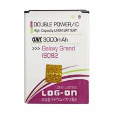 Daftar Harga Log On Double Power Battery For Samsung Galaxy Grand I9082 3800 Mah Log On