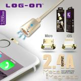 Toko Log On Kabel Magnetic Cable Charger Apple Lightning Iphone 5 6 6S Lengkap