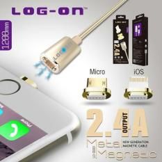 Jual Log On Kabel Magnetic Cable Charger Apple Lightning Iphone 5 6 6S Termurah