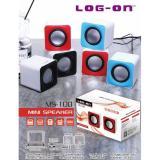 Log On Speaker Mini Ms100 Dual Sound Log On Diskon 40