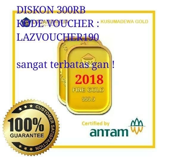 Promo Logam Mulia 10Gr Antam Emas 10Gr Akhir Tahun