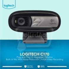Logiitech C170 - Hitam