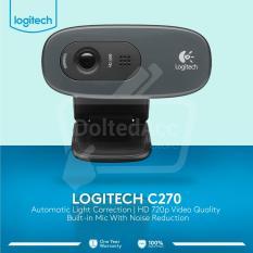 Jual Logiitech C270 Hd Webcam Hitam Lengkap