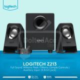 Cuci Gudang Logiitech Z213 Speaker Hitam
