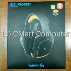 Logitech G231 PRODIGY Gaming Headset Gamer Gamers Headphone earphone