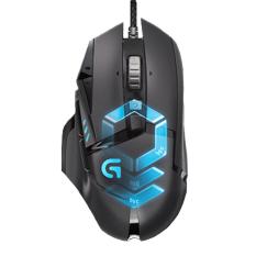 Logitech G502 Proteus Spectrum Gaming Mouse - Hitam