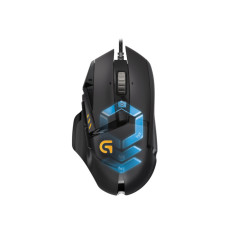 Jual Logitech G502 Proteus Spectrum Mouse Gaming Hitam Branded