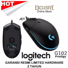 Review Toko Logitech Original Gaming Mouse G102 Prodigy Hitam