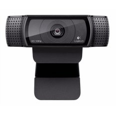 Logitech C920r (Latest Version) HD Pro Webcam, Widescreen Video Calling And Recording, 1080 P Kamera, Desktop atau Laptop Webcam