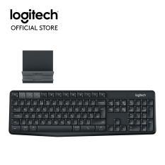 Promo Logitech K375S Multi Device Kombo Keyboard Dan Dudukan Wireless Logitech