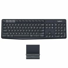 Logitech K375s Wireless Keyboard & Universal Stand Multi-Device - Hitam