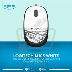 Spesifikasi Logitech M105 Mouse Putih Murah