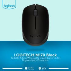 Logitech M170 Wireless Mouse - Hitam