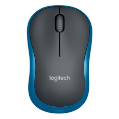 Logitech M185 Wireless Mouse - Biru