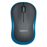 Jual Logitech M185 Wireless Mouse Biru Branded Murah