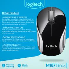 Beli Logitech M187 Wireless Mini Mouse Cicil
