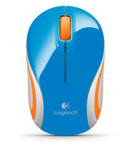 Logitech M187 Wireless Mini Mouse Biru Terbaru