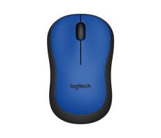 Beli Logitech M221 Silent Wireless Mouse Blue Murah Dki Jakarta