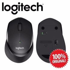 Promo Logitech M331 Silent Plus Wireless Mouse Black Logitech Terbaru
