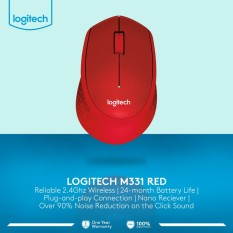 Jual Logitech M331 Silent Wireless Mouse Import