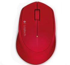 Harga Logitech M331 Silent Wireless Mouse Merah Logitech Terbaik