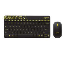 Logitech MK240 Nano Wireless Keyboard and Mouse Combo - Black