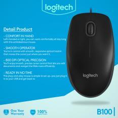 Logitech Mouse USB B100 Original