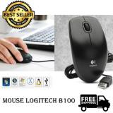 Jual Beli Logitech Mouse Usb B100 Original