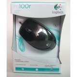 Harga Logitech Optical Mouse M100R Satu Set