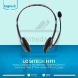 Dimana Beli Logitech Stereo Headset H111 Hitam Logitech