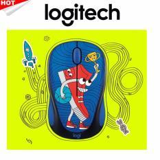 Promo Logitech Wireless Mouse Doodle Collection M238 Sneakerhead Logitech Terbaru