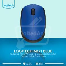 Jual Logitech Wireless Mouse M171 Biru Murah Di Dki Jakarta