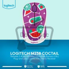 Kualitas Logitech Wireless Mouse Party Collection M238 Cocktail Logitech