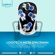 Jual Logitech Wireless Mouse Party Collection M238 Spaceman Dki Jakarta Murah