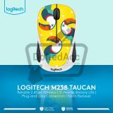 Diskon Besarlogitech Wireless Mouse Party Collection M238 Toucan