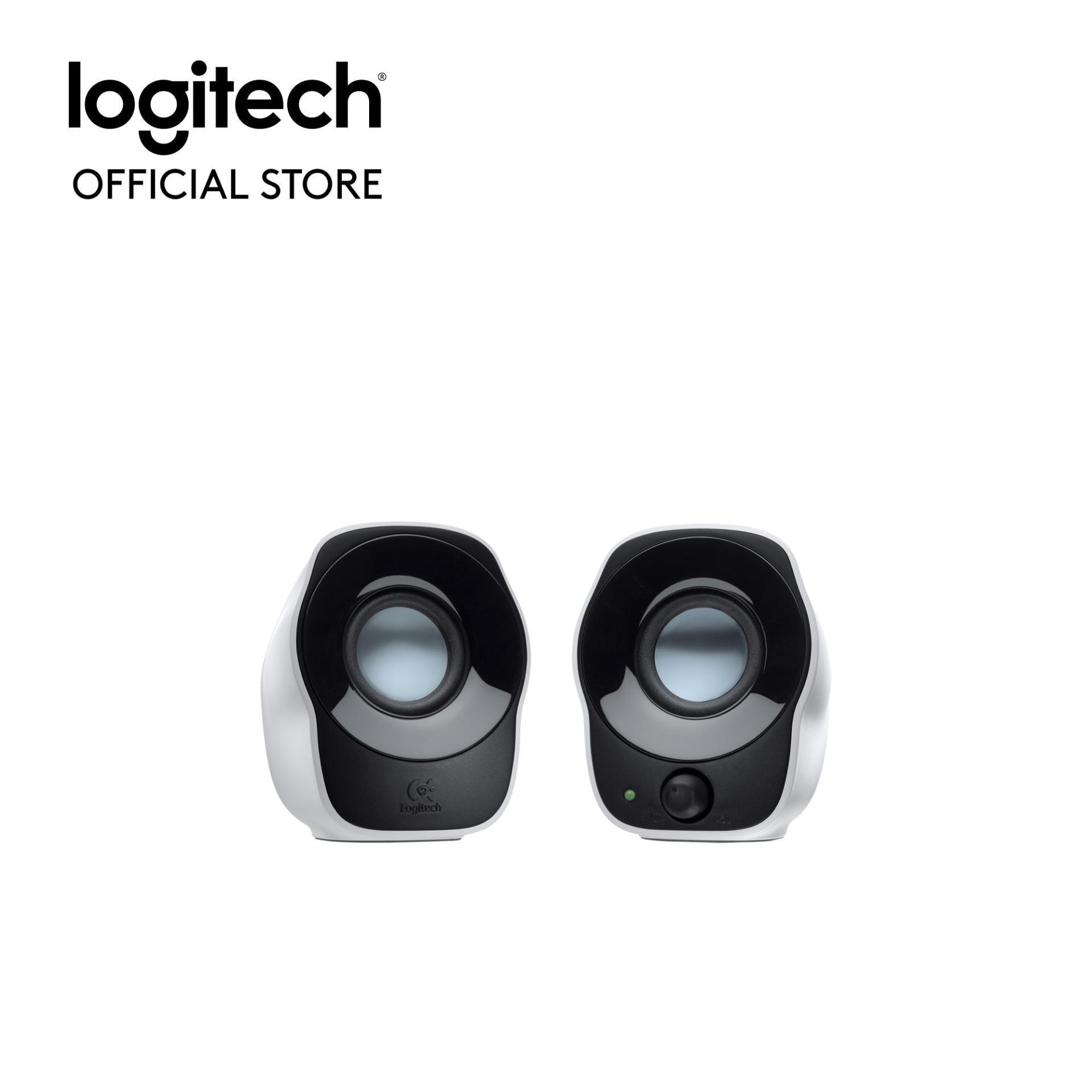 Logitech Z120 Stereo Speaker Putih Logitech Murah Di Indonesia