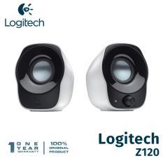Harga Logitech Z120 Stereo Speaker Putih Origin